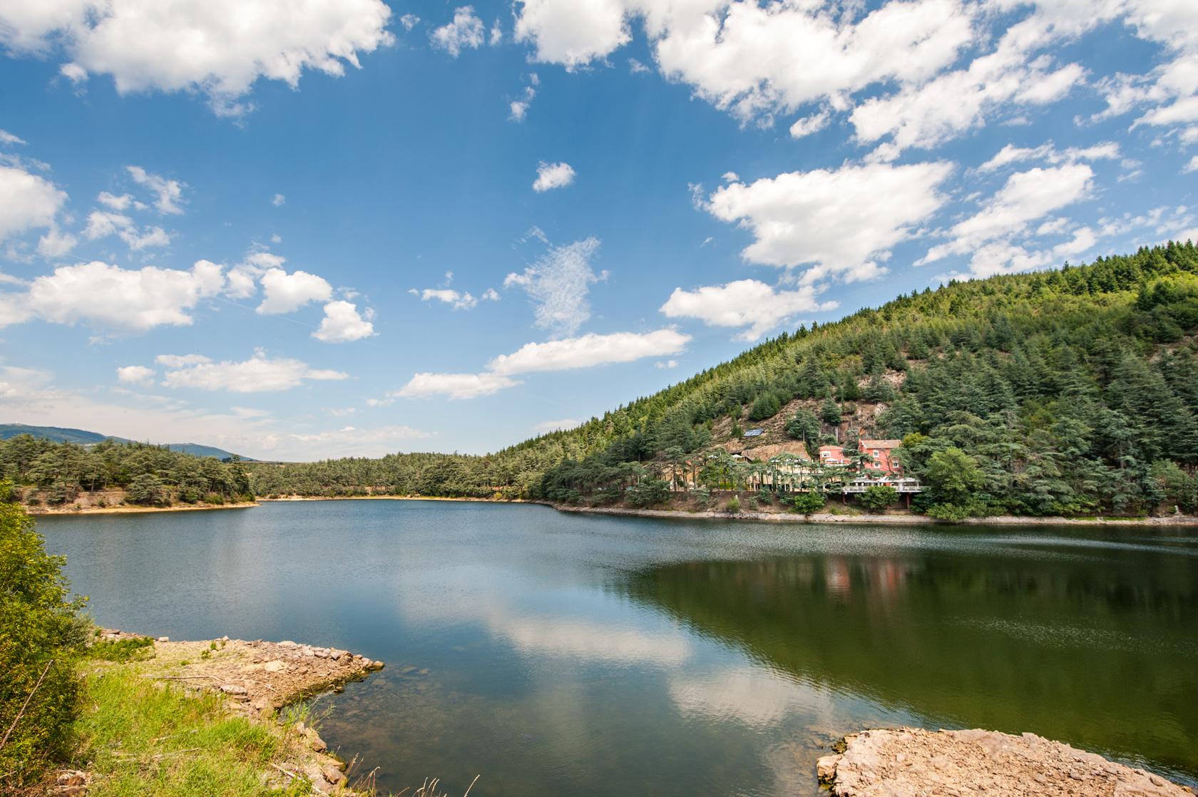 Auberge du Lac en Ardèche